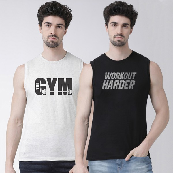 Black Red Workout Harder Gym...