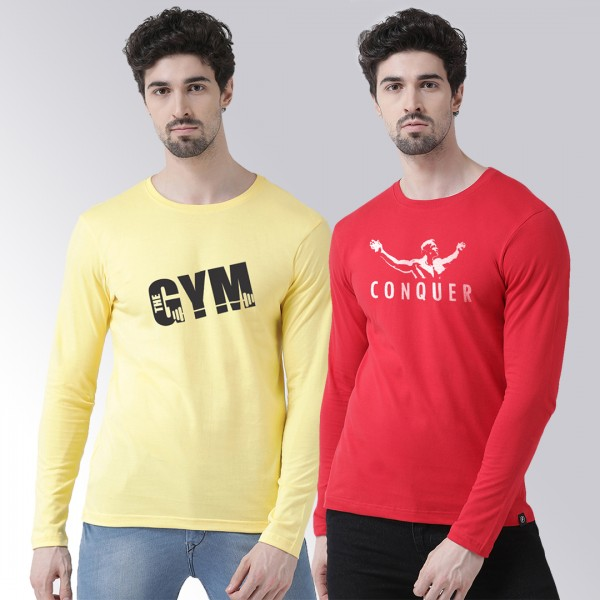 Gym Conquer Yellow Red Round...