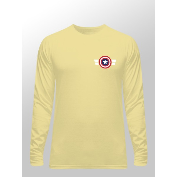 Mens Captain America Full Sl...