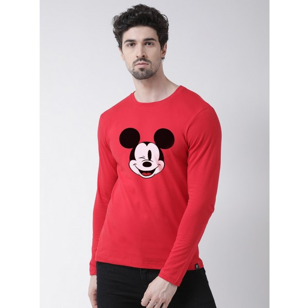Mens Mickey mouse Full Sleev...