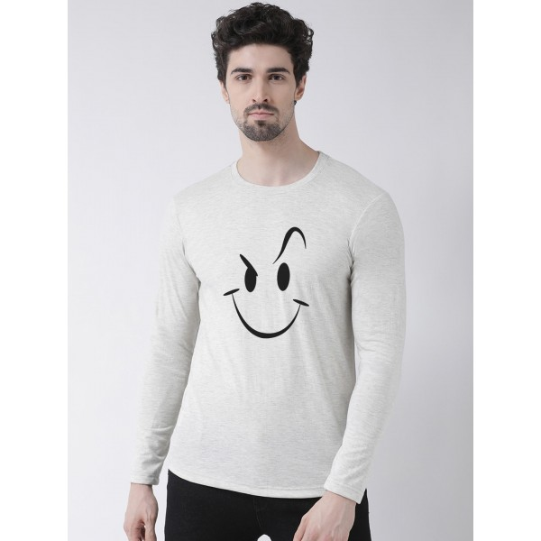 Mens Smily Full Sleeve Tshir...