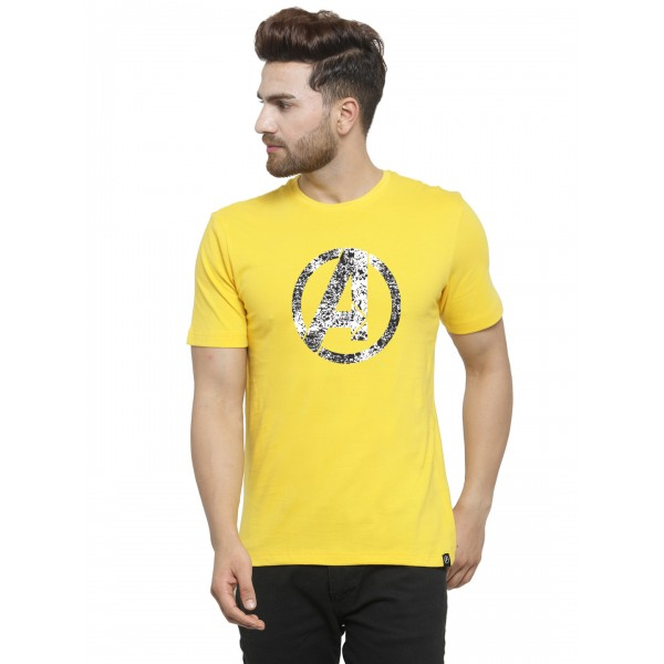 Avenger Yellow Clearence T-s...
