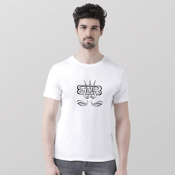 Mahadev Eyes Round neck Tshirt