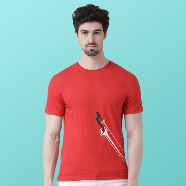 Men Stretch Round neck Tshirt