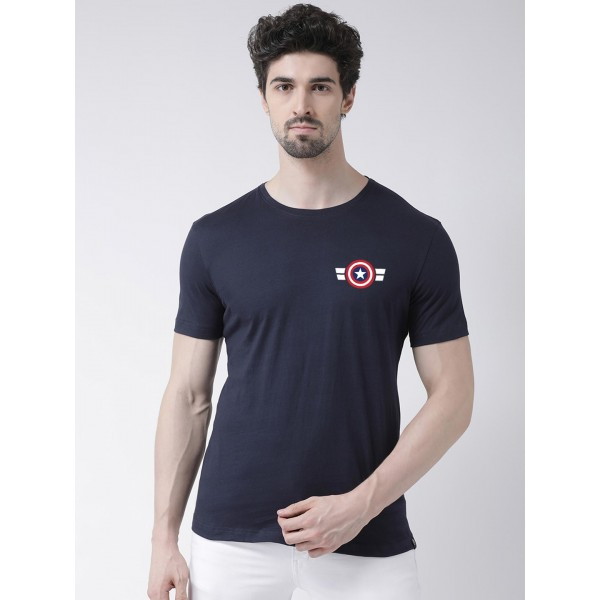 Mens Captain America Round neck Tshirt