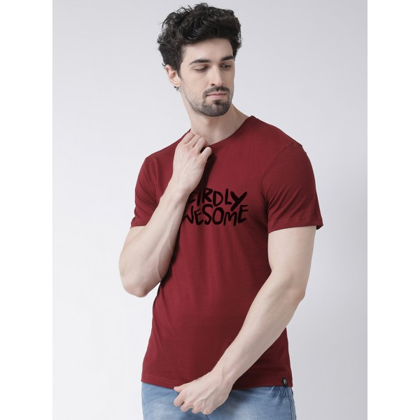 Wrirdly Awesome Round neck Tshirt