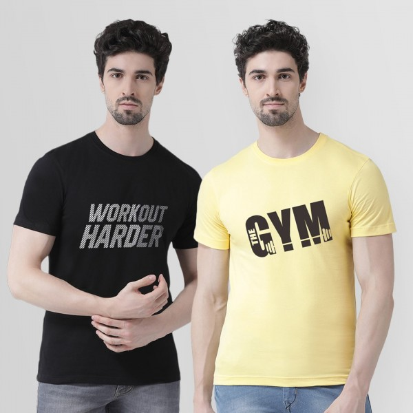 Workout and Gym Round neck Tshirt