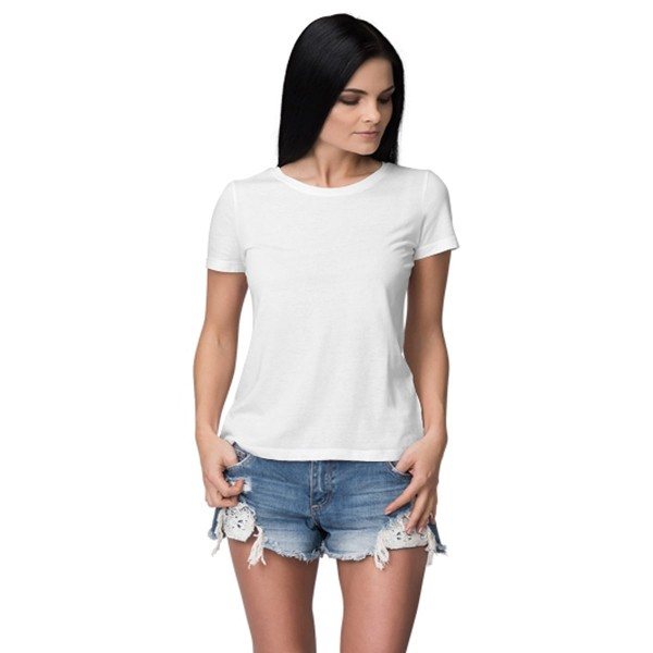 White Round neck Tshirt