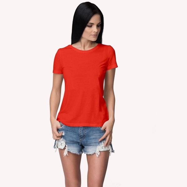 Red Round neck Tshirt