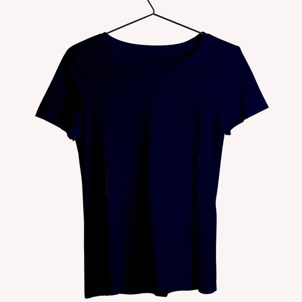 Navy Round neck Tshirt