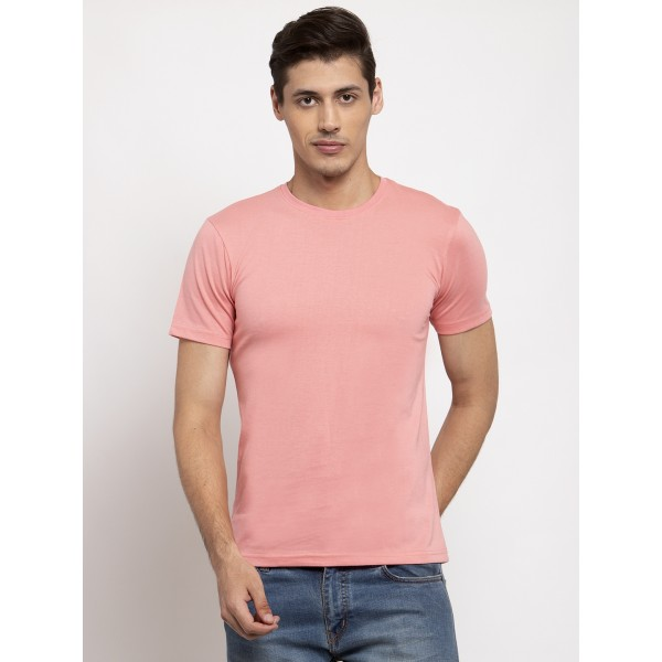 Coral Round neck T-shirt