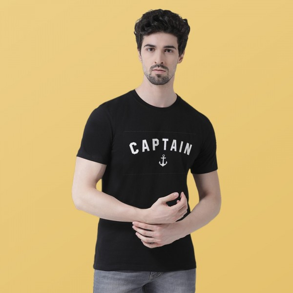 Captain Round neck Tshirt