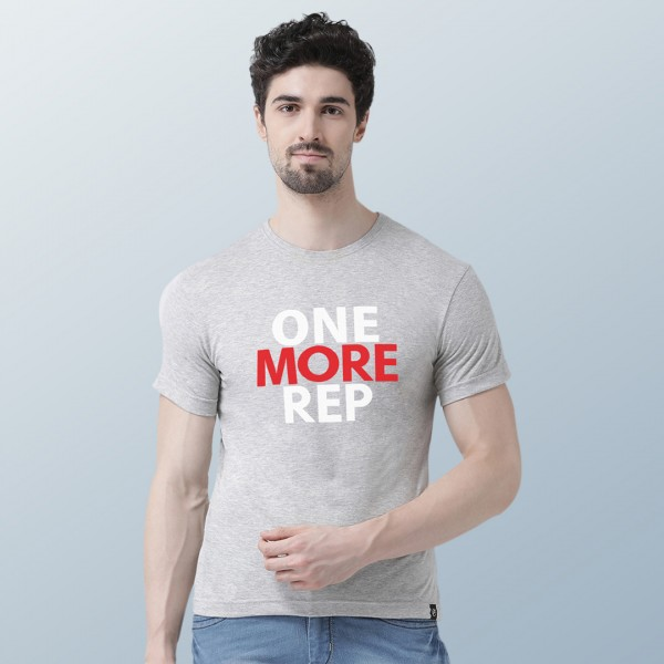 One More Rep Round neck Tshirt